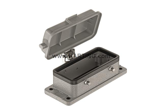 Han 16B-HBM IP 67 w. self-locking cover