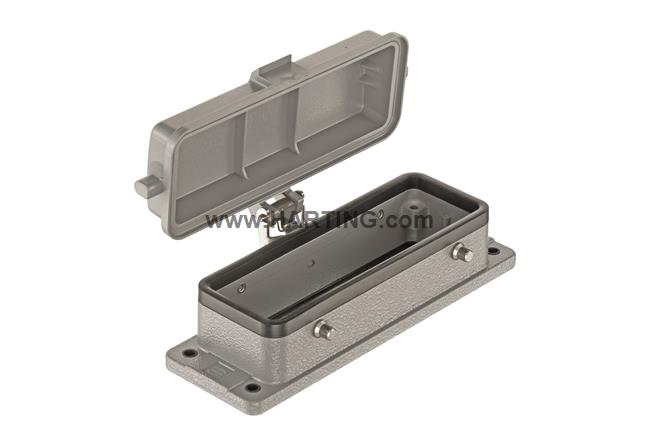 Han 24B-HBM IP 67 w. self-locking cover