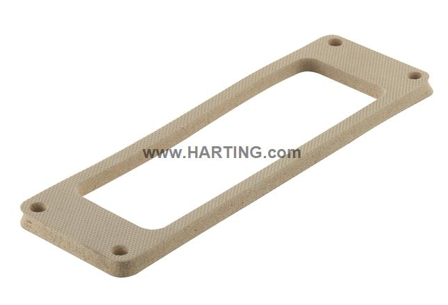 Han M 24 Gasket 5mm neoprene light grey