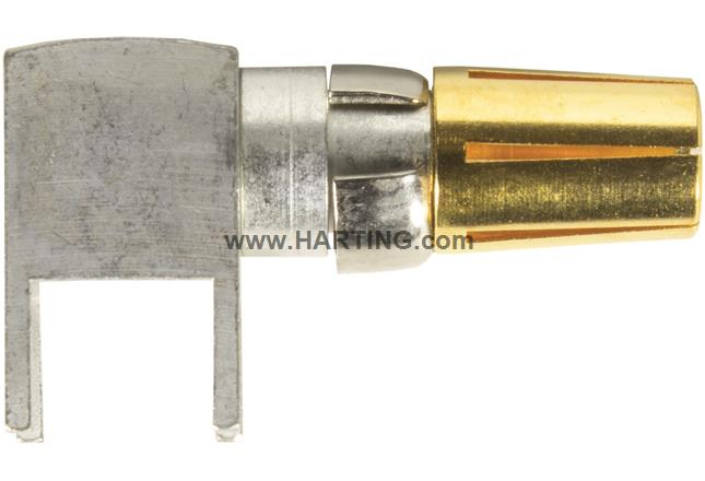 DIN Signal female contact 40A angled