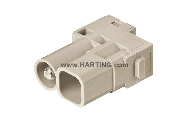 Han 70A Hybrid module, male 6-16mm²