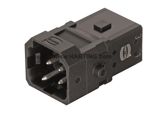 Han 1A-3+PE-s-m latch