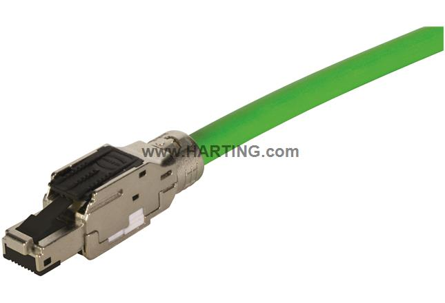 RJI MF-PN RJ45plug Cat5, 4p IDC straight