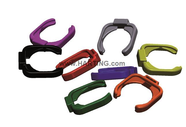 Color clip RJ45 dl-bt green