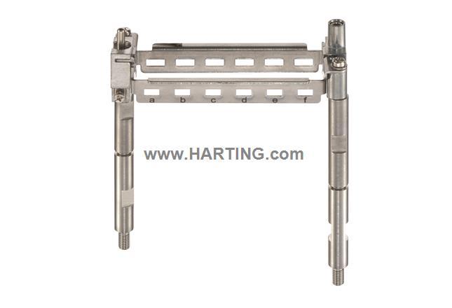 Han 16HPR EasyCon PE Modular Frame a-f
