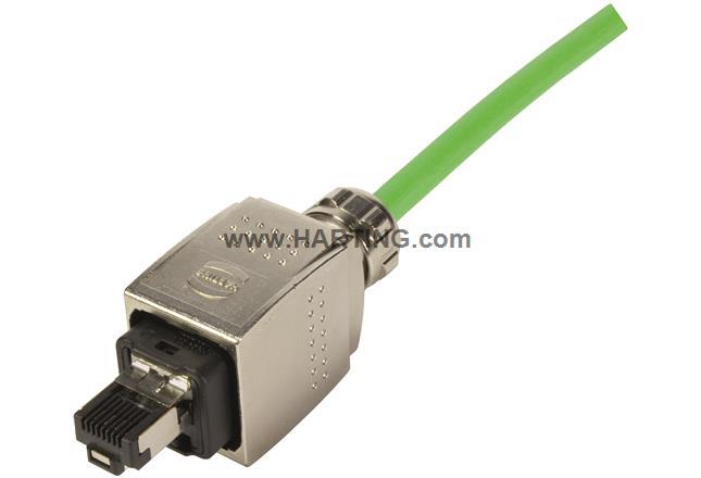 4POS HARTING Sensor Connector 21023692401 M8 Screw RCPT