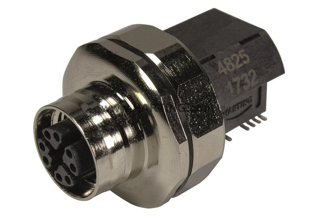 M12 MAGNETICS X-CODED ANGLED POE 10GB | HARTING Technology Group