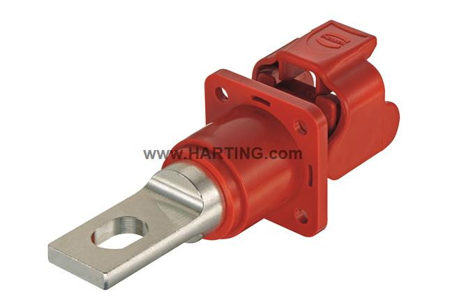 Han® S-HBM w. MC red busbar