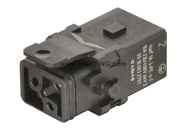 Han 1A-3+PE-s-f latch