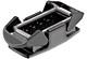Han-Eco® 16 B, Housings, bulkhead mounting, FPM seal
